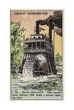 American Riverboat, 1858 Giclee Print