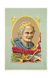 Voltaire, French Writer and Philosopher Giclee Print