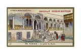 The Bardo Palace, Tunisia Giclée-tryk
