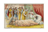 Death of King Louis IX of France Giclee Print