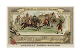 Horse Racing in Brittany Giclee Print