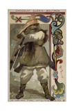 Visigoth Warrior Chieftain Giclee Print