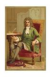 Jean De La Bruyere, French Philosopher Giclee Print