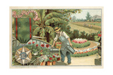 Agricultural Merit Medal Giclee Print