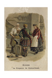 The Blacksmith of Gretna Green, Scotland Giclee Print