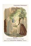 Crib of the Infant Jesus, Christmas Giclee Print