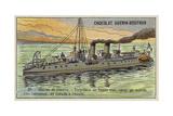 French Torpedo Boat, 1905 Giclee Print
