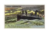 French Torpedo Boat, 1883 Giclee Print