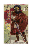 Ostrogoth Warrior Chieftain Giclee Print