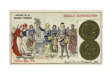 Gold Agnel of Philip V, 1316 Giclee Print