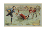 Rugby Football Giclee Print
