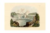 Niagara Falls, 1833-39 Giclee Print
