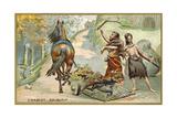 Primitive Wagon Giclee Print