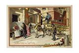 Milkman's Wagon Lámina giclée
