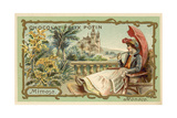 Mimosa, Monaco Giclee Print