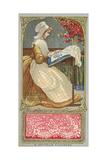 Flemish Lace Giclee Print