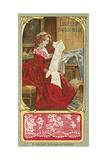 English Needle Lace Giclee Print
