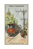 Electric Tram Giclee Print