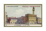 The Uffizi, Florence Giclee Print