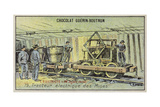 Electric Mine Tractor Giclee Print