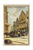 Pedlar's Wagon Giclee Print