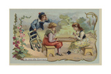 Game of Draughts Giclee Print