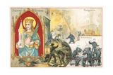 St Barbara Giclee Print