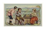 Backgammon Giclee Print