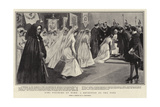 Girl Pilgrims at Rome, a Reception by the Pope Giclee Print