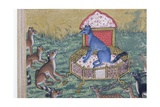 Detail from the Jackal Who Pronounced Himself King, C.1560-65 Giclee Print
