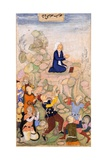 Moses and the Plague of Serpents, 1602-05 Giclee Print