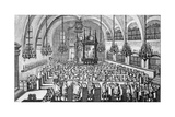 The Gathering in the Synagogue, 1705 Giclee Print