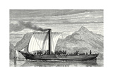 The 'Comet' the First English Steamboat Built by Henry Bell in 1812 Giclee Print