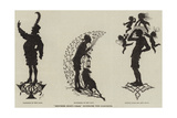 Midsummer Night's Dream, Illustrated with Silhouettes Giclee Print