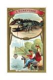 Crayfish Giclee Print