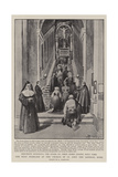 The Holy Staircase at the Church of St John the Lateran, Rome Giclee Print