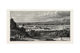 View of Damascus, Capital and the Second Largest City of Syria Giclee Print