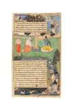 Raja Drupada Begs Shiva to Grant Him a Boon, 1616 Giclee Print