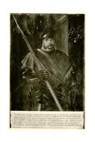 Georg Von Frundsberg, 1884-90 Giclee Print