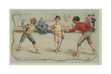 Fencing Giclee Print