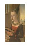 Portrait of Maria Bonciani, Pierantonio Baroncelli's Wife Giclee Print