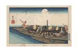 Two Boats, 1885 Giclee Print