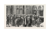 Mid-Day Prayer in Siout, Egypt, 1879 Giclee Print