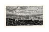 View in the Plain of Latakia, in Syria Giclee Print
