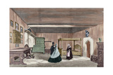 Martin Luther's Room in Wartburg Castle Giclée-tryk