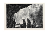 An Autumn Tour in Switzerland: Swiss Water Nymphs under the Giessbach Giclee Print