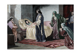 Resurrection of Jairus' Daughter, by Rusing Wydruk giclee