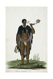 Hottentot Man, Africa Giclee Print