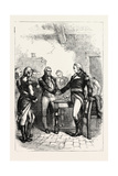 Washington Taking Leave of His Old Comrades, USA, 1870S Giclee Print