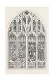 Shakspeare Memorial Window for Stratford-On-Avon Church 1873 Giclee Print